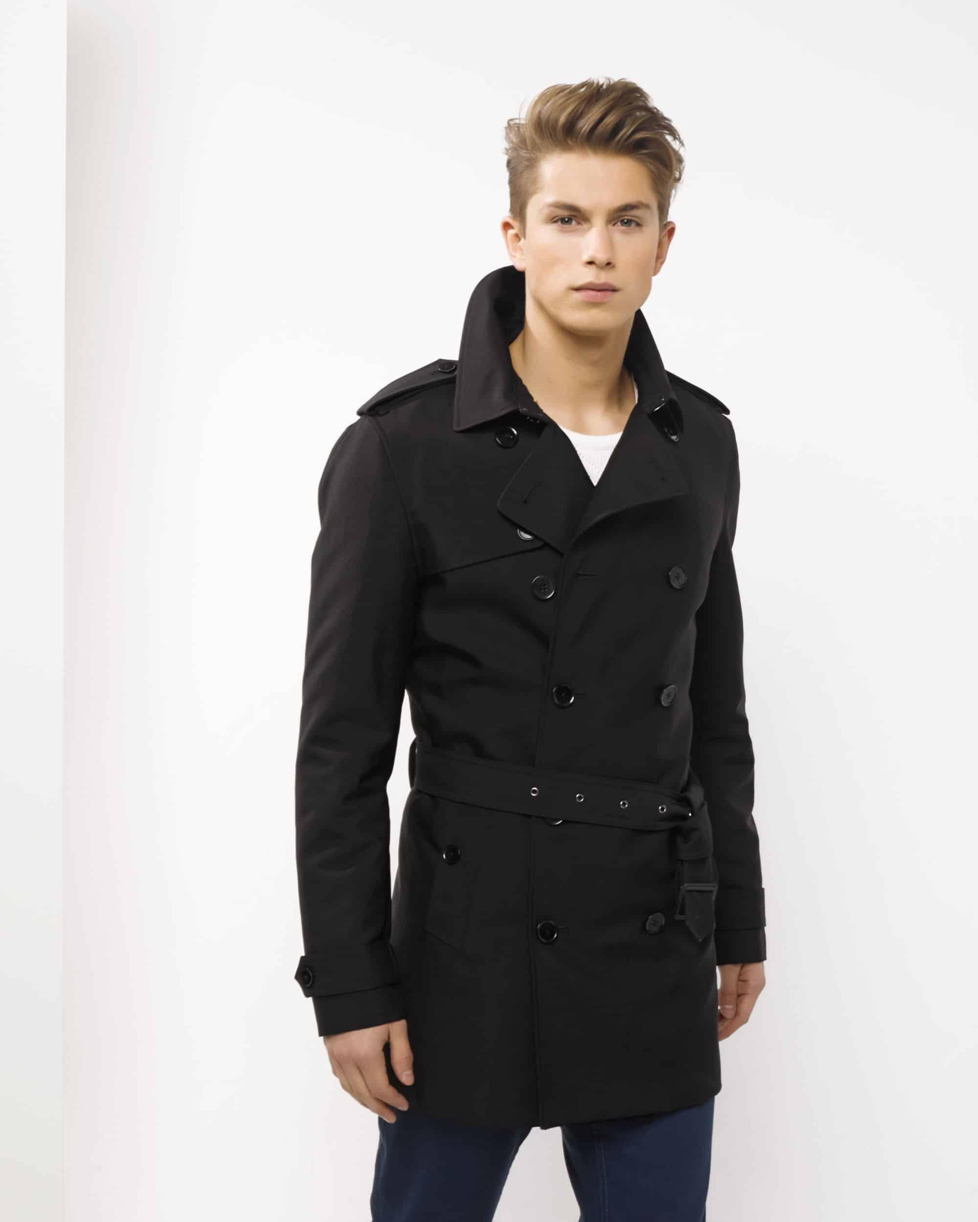 trench coat homme court ou long. Black Bedroom Furniture Sets. Home Design Ideas