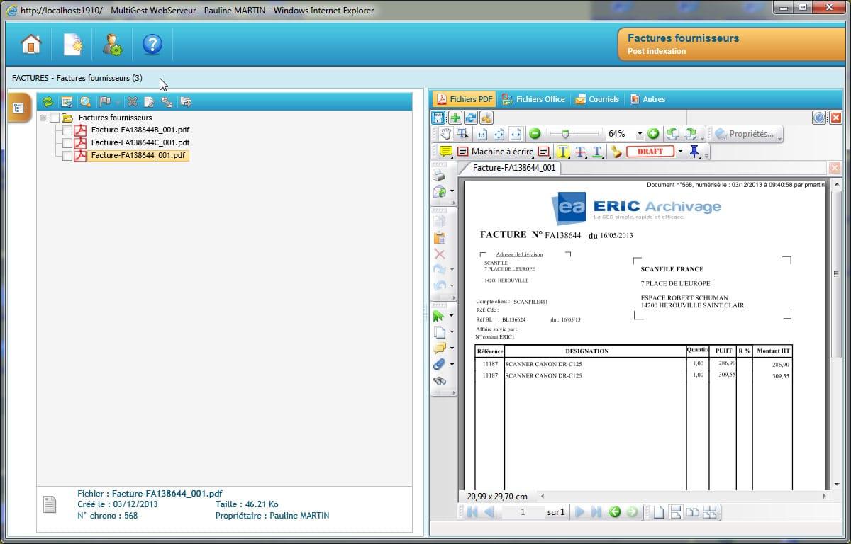 Ged tout savoir : Numérisation de document administratif
