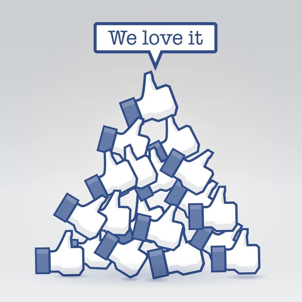Acheter des likes Facebook : trouvez ici votre bonheur